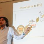 Roberto Ballester en el Diploma de Responsabilidad Social Empresarial de la Universitat de València