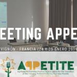 III Meeting APPETITE en Avignon (Francia)